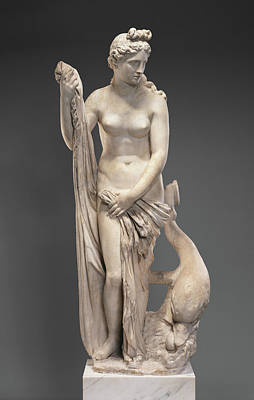 Venus Drawing - Statue Of Venus The Mazarin Venus Unknown 2nd Century by Litz Collection