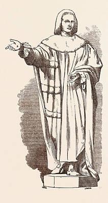 Statue Ot The Earl Of Chatham Art Print