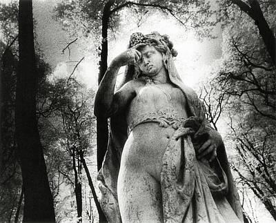 Photograph - Statue, The Summer Garden, St Petersburg, Russia by Simon Marsden