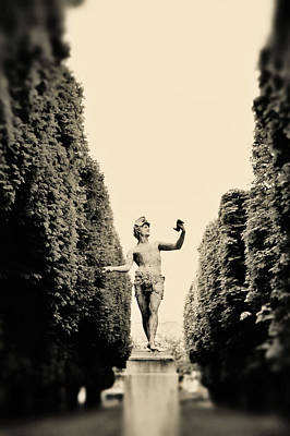 Luxembourg Gardens Photograph - Statuesque by Rebecca Cozart