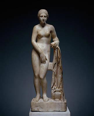 Venus Drawing - Statuette Of Venus Venus De Clerq Unknown Rome by Litz Collection