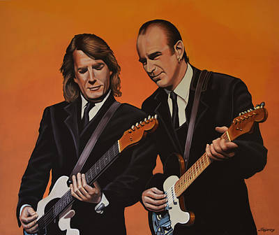 Francis Painting - Status Quo by Paul Meijering