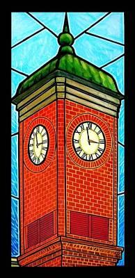 Staunton Virginia Clock Tower Art Print by Jim Harris