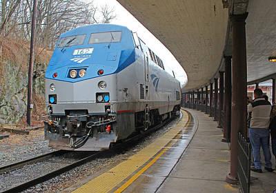 Photograph - Staunton Virginia Passenger Station 3 by Joseph C Hinson Photography