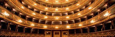 Prague Czech Republic Photograph - Stavovske Theater, Prague, Czech by Panoramic Images
