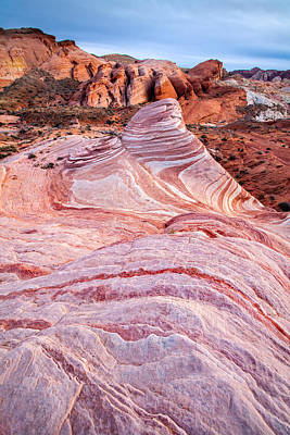 Valley Of Fire Wall Art - Photograph - Stawberries And Cream by Peter Tellone