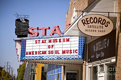 Photograph - Stax Memphis by Liz Leyden