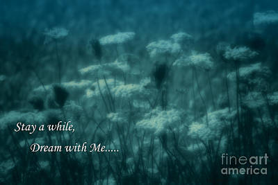 Photograph - Stay A While Dream With Me  by Cathy  Beharriell