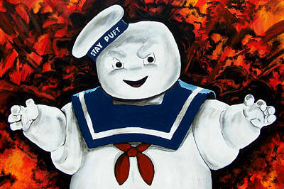 Stay Puft Armageddon Original by Jack Irons