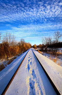 Railroad Park Photograph - Staying Within The Lines by Phil Koch
