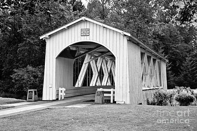 Jordan Photograph - Stayton-jordan Covered Bridge by Scott Pellegrin