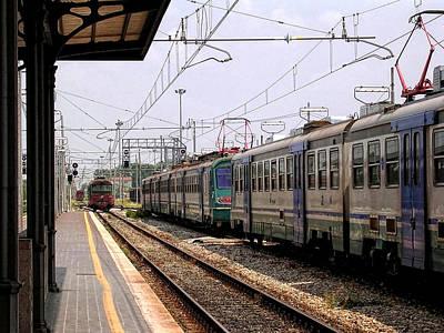 Impressionist Landscapes - Stazione di Lucca by Paul Williams