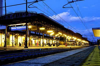 Photograph - Stazione Di Roma Trastevere by Fabrizio Troiani