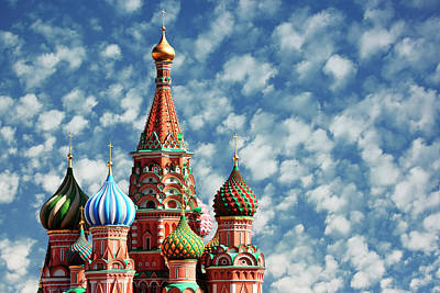 Photograph - St.basil Cathedral, Moscow, Russia by Tunart