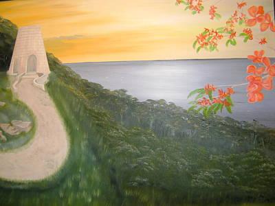 St. Croix Painting - St. Croix - Historic Sugar Mill by David Walter
