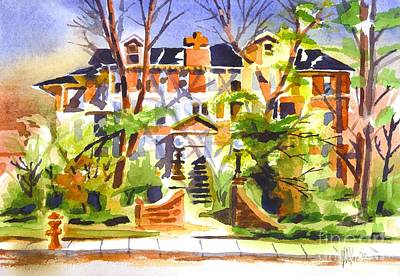 Painting - Ste Marys Of The Ozarks Hospital by Kip DeVore
