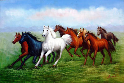 Steadfast Painting - Steadfast Free Spirit by American Artist