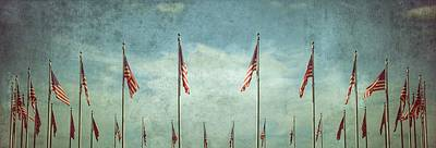 Flagpole Photograph - Steadfast by Marianna Mills