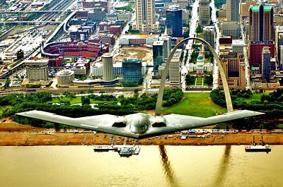 Photograph - Stealth St Louis by Benjamin Yeager