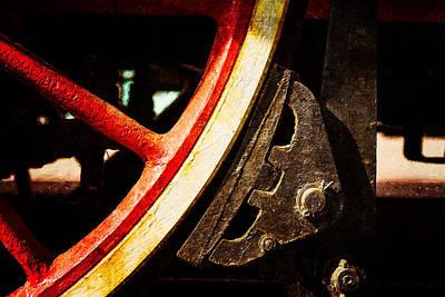 1920s Flapper Girl - Steam And Iron - Brake Shoe by Alexander Senin