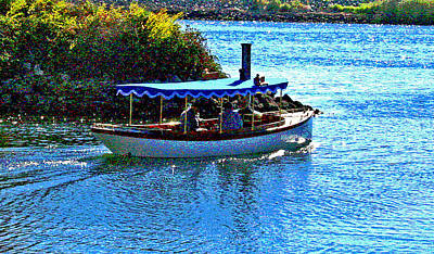 Photograph - Steam Boat Friends by Joseph Coulombe