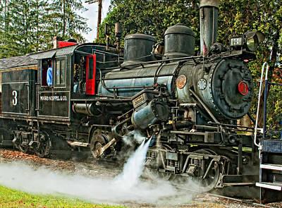Steam Engine Photograph - Steam Climax by Steve Harrington