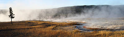 Hot Creek Photograph - Steam Creek by David Andersen