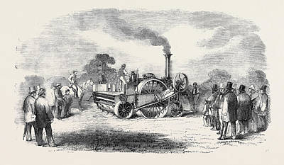 Steam Cultivation Crosskills Romaine Cultivator Art Print by English School
