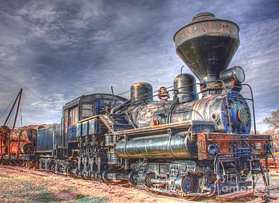 Steam Engine 7 Art Print
