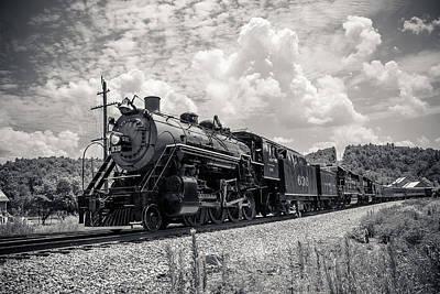 Steam Engine Print by Darrin Doss