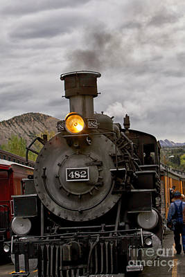 Photograph - Steam Engine by Erika Weber