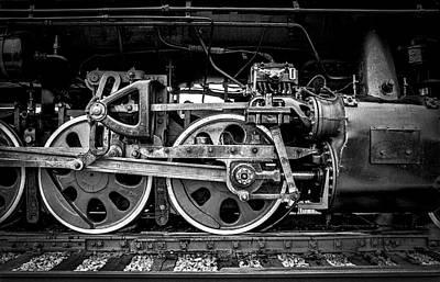 Photograph - Steam Engine by Jeff Burton