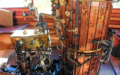 Photograph - Steam Engine by John Schneider