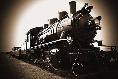 Locamotive Photograph - Steam Engine by Kami McKeon