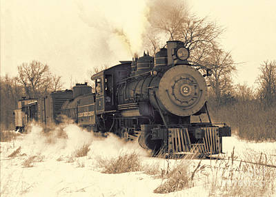 Steam Engine Number Two Art Print by Robert Kleppin