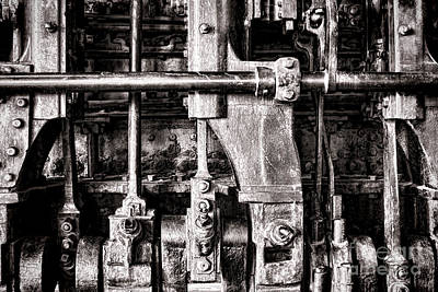 Machinery Photograph - Steam Engine by Olivier Le Queinec