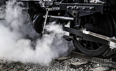 Photograph - Steam Engine by Ronald Grogan