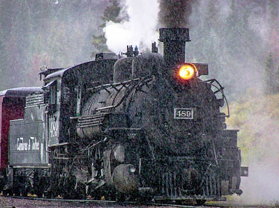 Photograph - Steam Engine by Shey Stitt