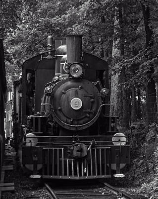 Photograph - Steam Engine Train by Chris Flees