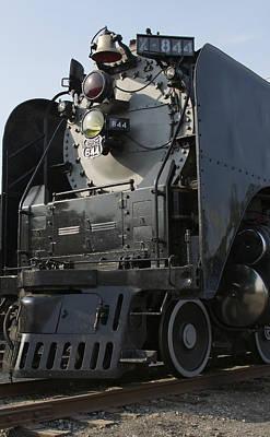 Photograph - Steam Engine U P 844 by Jane Eleanor Nicholas