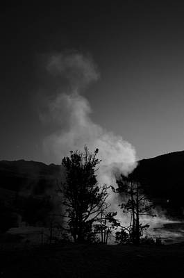 Photograph - Steam From Palette Springs by Crystal Wightman