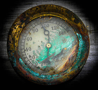 Photograph - Steam Gauge by Christy Usilton