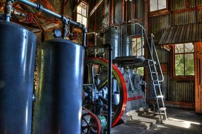Steam Generator At Koreshan Art Print by Timothy Lowry