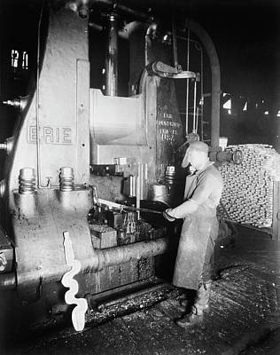Hammer Photograph - Steam Hammer by Library Of Congress