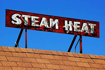 Steam Heat Art Print by Daniel Woodrum