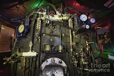 Boiler Photograph - Steam Locomotive Engine by Keith Kapple