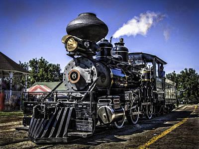 Union Pacific 844 Photograph - Steam Locomotive by F Leblanc