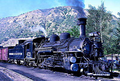 Photograph - Steam Locomotive by Kume Bryant