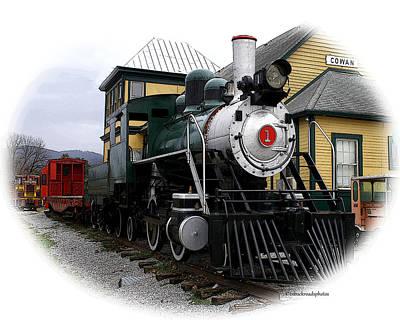Photograph - Steam Locomotive by TnBackroadsPhotos