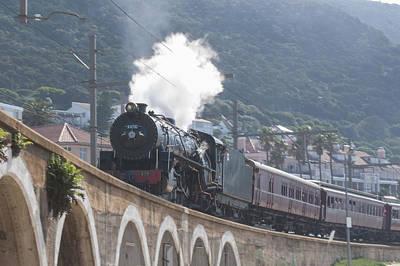 Tom Hudson Photograph - Steam Locomotive by Tom Hudson